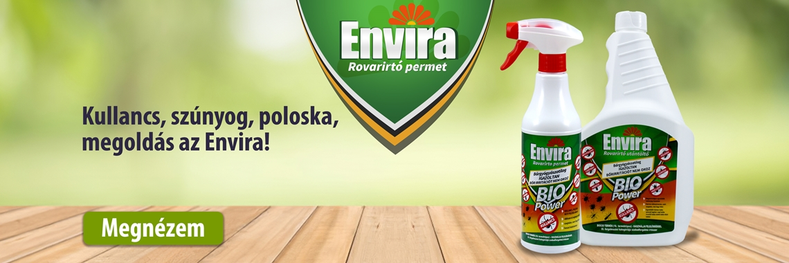 Envira rovarirtók a NapiBio.hu webáruházban