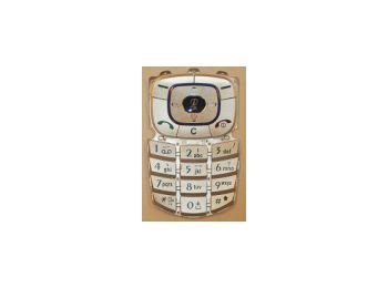 LG 7100 billentyűzet ezüst*