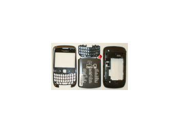 Blackberry 9300 Curve komplett ház szürke*