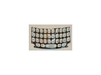 Blackberry 9360 Curve billentyűzet fehér qwerty*