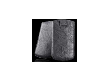 Telone Special Creased álló kihúzhatós bőrtok HTC Desir