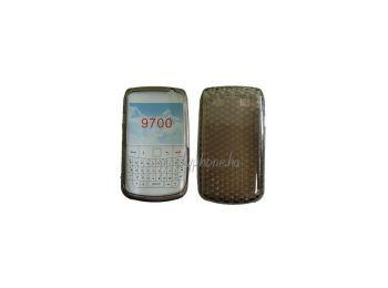 Blackberry 9700 szilikon tok szürke*
