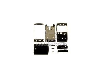 Blackberry 9520,  9550 komplett ház fekete*