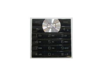 Sony Ericsson W350 billentyűzet fekete (swap)*