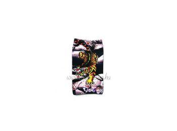 Zoknis tigris mintás álló szövet tok (nokia 3310 (2017)