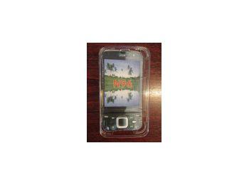 Nokia N96 műanyag crystal tok**