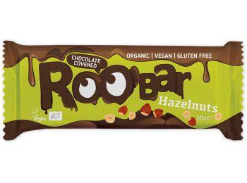 Roobar csokival bevont törökmogyorós szelet 30g