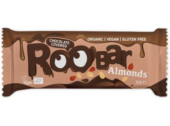 Roobar csokival bevont mandulás szelet 30g