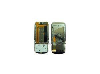 Nokia 3600 slide csúszka mechanikával,  átvezető fóliával,  felső billentyűzet panellel (swap)