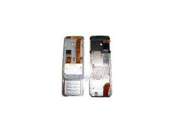 Nokia E65 csúszka mechanikával,  átvezető fóliával,  billentyűzettel (swap)