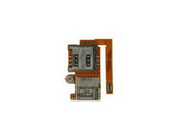 Sony Ericsson W890 sim- és memóriakártya olvasós átvezető fólia