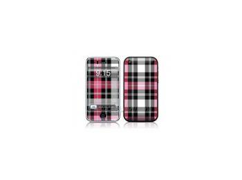 Matrica iPhone 3G,  3GS-re RedPlaid*