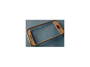 Samsung S6802 Galaxy Ace Duos előlap keret rózsaszín*