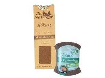 Bio natural mosogatószivacs kókusz (6 db)