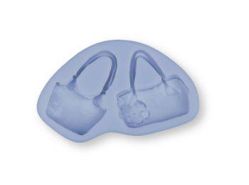 Női táskák szilikon fondant forma