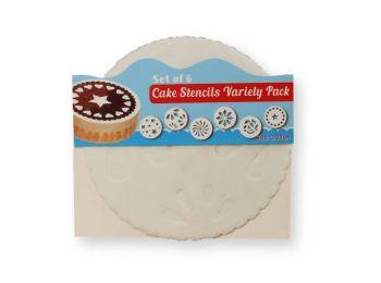 6 -féle 20 cm-es torta sablon