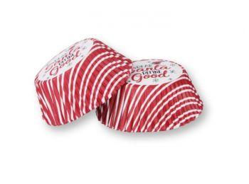 100 db-os karácsonyi muffin papír