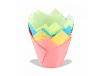 20 db 4 színű Dr Oetker tulipános muffin papír