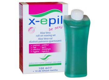 X-Epil Aloe Verával dúsított patronos gyantaszett XE9212