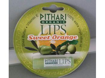 Pithari Organic Lips ajakápoló Sweet Orange, 5 g