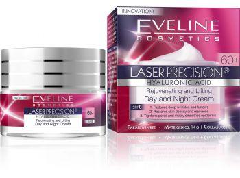 Eveline Lifting Laser Precision nappali és éjszakai krém 60+, 50 ml