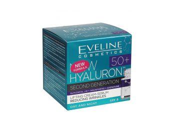 Eveline bioHyaluron 4D 50+ koncentrált nappali és éjszakai krém 50 ml