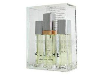Chanel Allure EDT női parfüm, 3x15ml