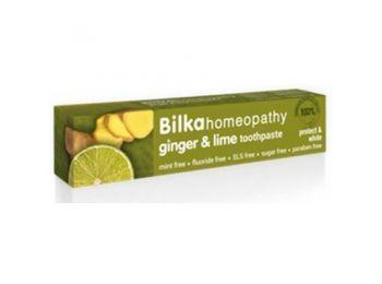 Bilka fogkrém homeopátiás gyömbér-lime, 75 ml
