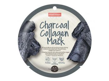 PureDerm aktív szén circle fátyolmaszk zsíros bőrre, 1
