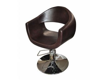 Hidraulikus fodrász szék, barna MA6969-A39
