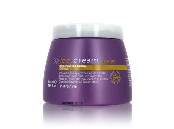 Inebrya Ice Cream Liss Perfect egyenesítő pakolás, 500 ml