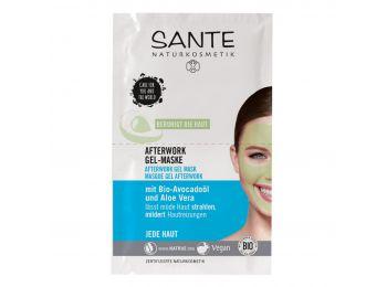 Sante Afterwork nyugtató hatású gélmaszk,  2 x 4 ml