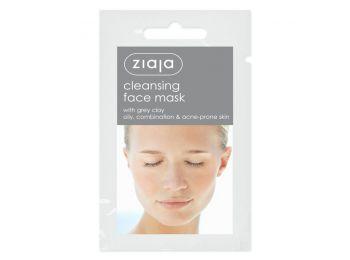 Ziaja tisztító arcmaszk szürke agyaggal, 7 ml