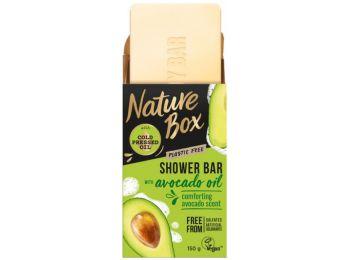 Nature Box szilárd avokádó tusfürdő, 150 g