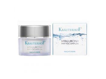 Krauterhof Hyaluron és Phytocomplex éjszakai arckrém, 50 ml