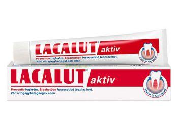 Lacalut Aktiv Preventív fogkrém, 75 ml