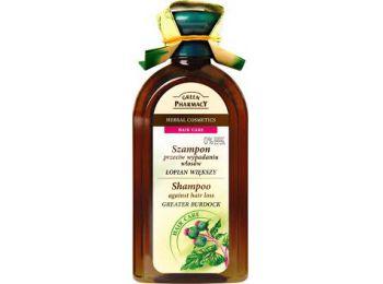 Green Pharmacy sampon minden hajtípusra bojtorján kivonattal, 350 ml