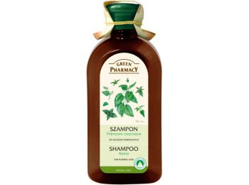 Green Pharmacy sampon normál hajra csalán kivonattal, 350 ml