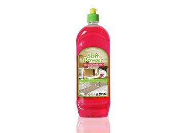Soft Power mosogatószer málna illattal (1 liter)