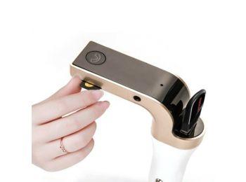 Szivargyújtós 4 az 1-ben Bluetooth FM Transmitter