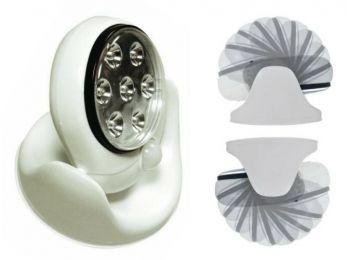 Mozgásérzékelős LED lámpa reflektor, fali lámpa