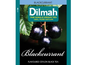 Dilmah Blackcurrant feketeribizlis fekete tea 25db/cs