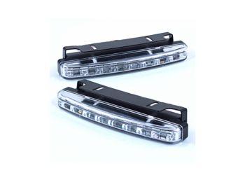 6 LED-es menetfény