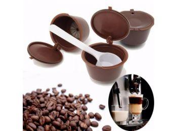 Újratölthető kávékapszula 5db - Nescafe Dolce Gusto ká