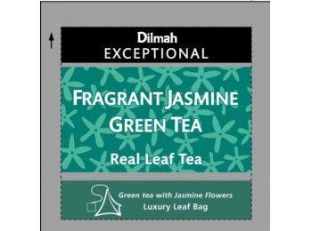 Dilmah Fragnant Jasmine zöld tea jázmin szirmokkal 50 filter/doboz