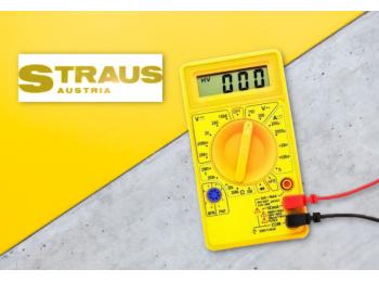 Straus digitális multiméter (ST/DMM-0500)
