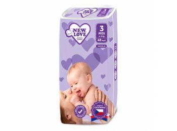 Gyermek eldobható pelenka, 4-9 kg, 48 db