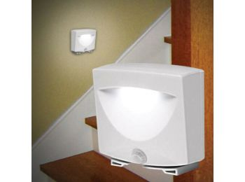 Mozgásérzékelős lámpa- LED, kültérre és beltérre