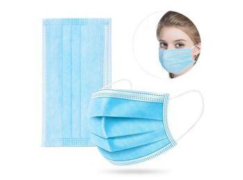 3 RÉTEGŰ SZÁJMASZK, egészségügyi maszk - GUMIS KÉSZLE