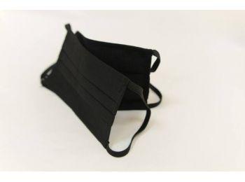 Fekete mosható maszk